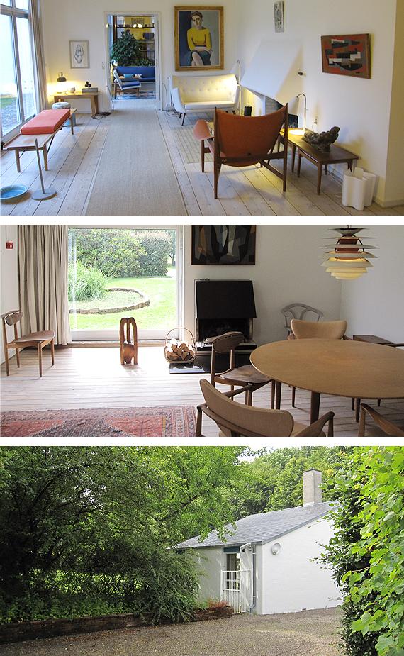 デンマークのフィンユール邸の画像